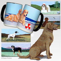 Chesapeake Bay Retriever Scenic Mug