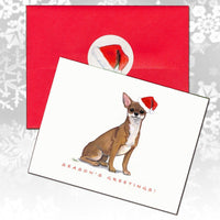 Chihuahua Christmas Note Cards
