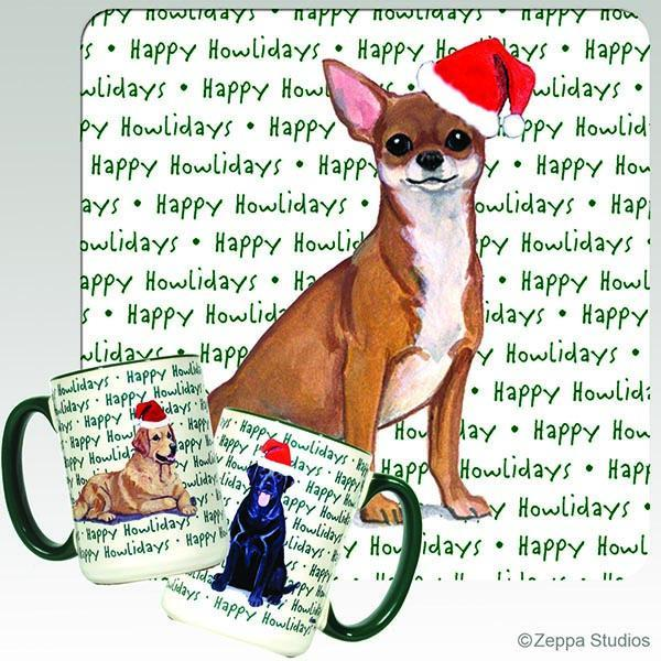 Chihuahua Holiday Mug