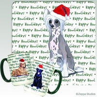 Chinese Crested Holiday Mug