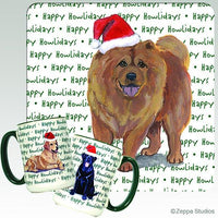Chow Chow Holiday Mug