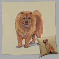 Chow Chow Pillow Cover