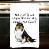 Collie Tea Towel