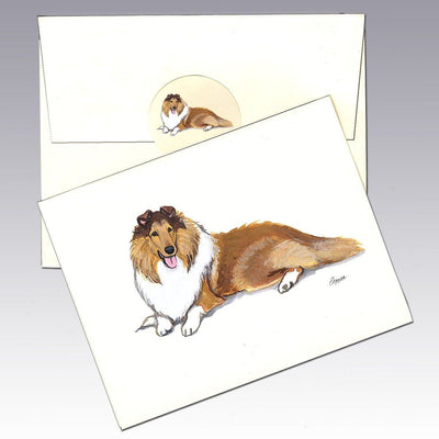Collie Note Cards