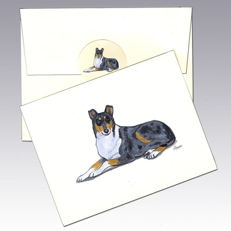 Collie, Smooth Note Cards