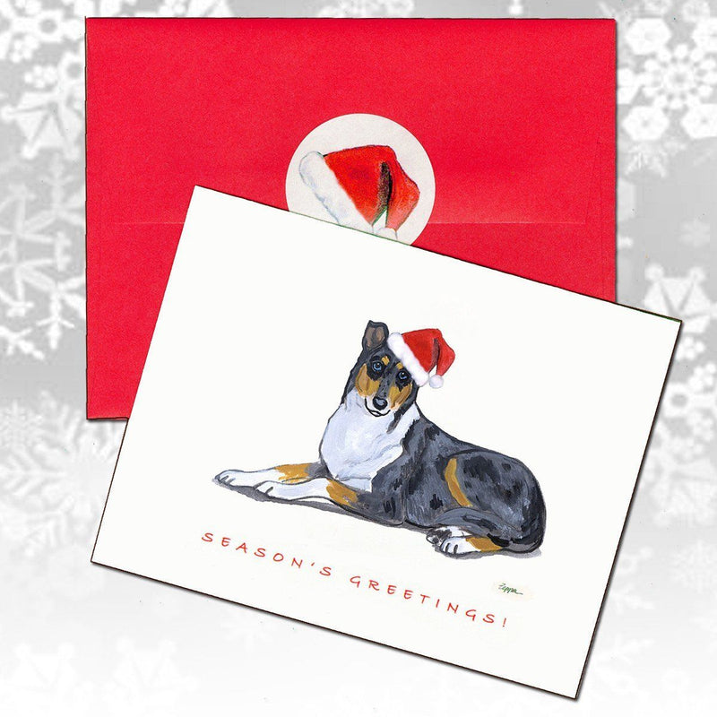 Collie, Smooth Christmas Note Cards