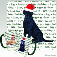 Curly Coated Retriever Holiday Mug