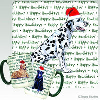 Dalmatian Holiday Mug