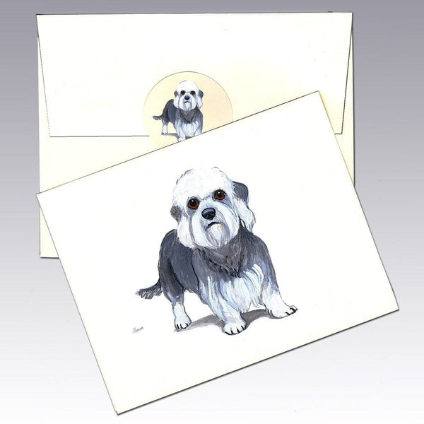Dandi Dinmont Terrier Note Cards