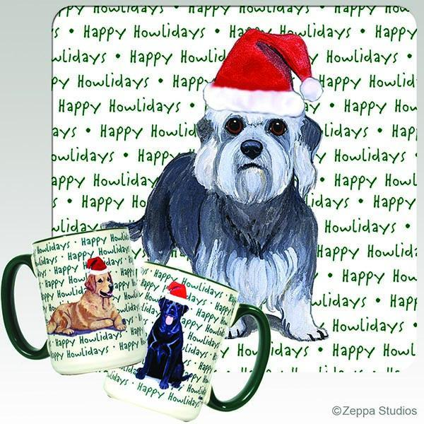 Dandie Dinmont Terrier Holiday Mug