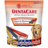 DentaCare Dental Sticks - Fruit & Yogurt Combo Pack