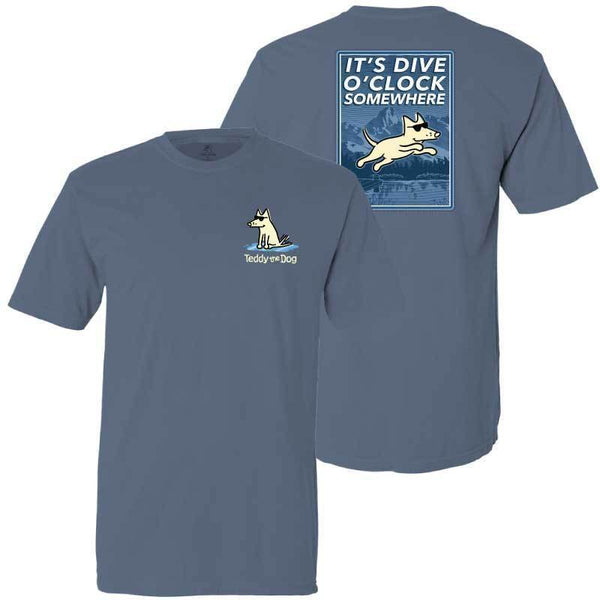 It's Dive-O-Clock Somewhere - Classic Tee