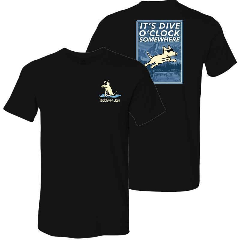 It's Dive-O-Clock Somewhere - Lightweight Tee