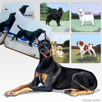 Doberman Pinscher Scenic Coaster