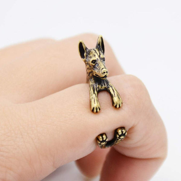 Doberman Wrap Ring