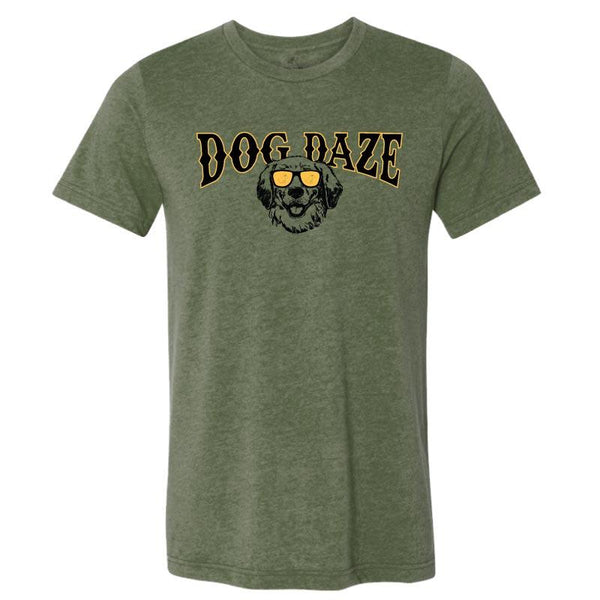 Dog Daze - Golden Retriever - Lightweight Tee