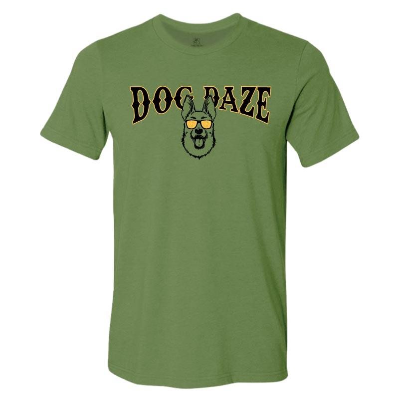 Dog Daze - German Shepherd Dog - Lightweight Tee