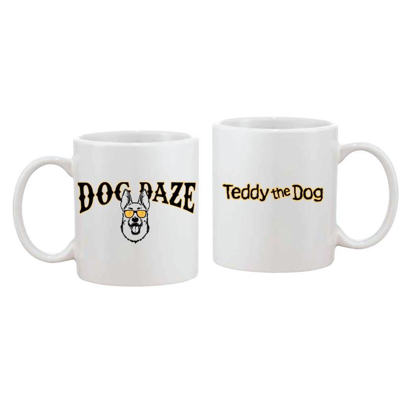 Dog Daze - German Shepherd Dog - Coffee Mug