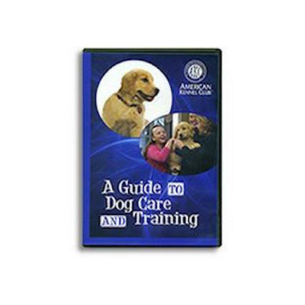A Guide to Dog Care and Training DVD image