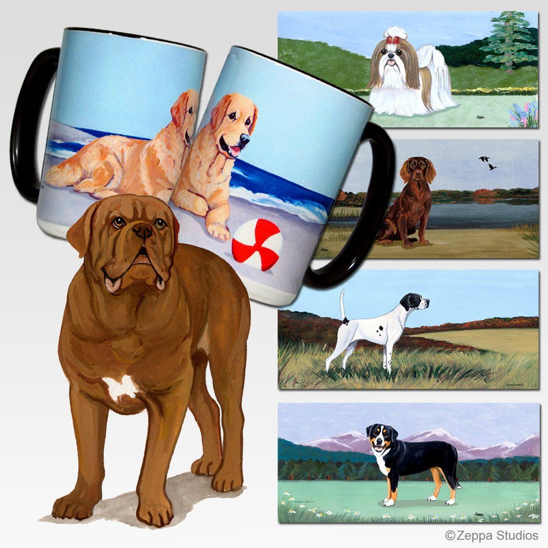 Dogue de Bordeaux Scenic Mug