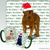Dogue de Bordeaux Holiday Mug