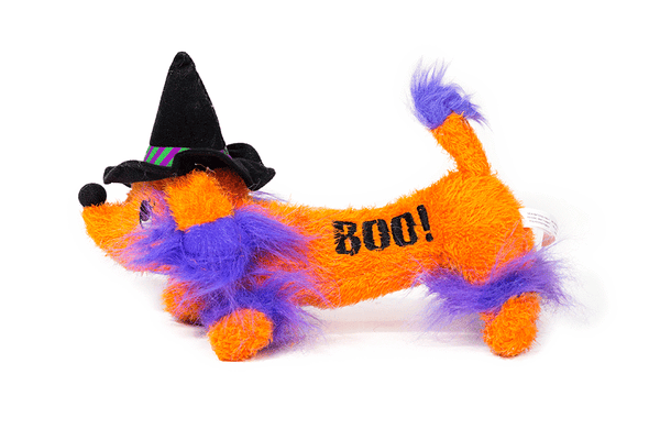 Halloween Dog Witch Toy