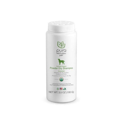 Organic Dry Dog Shampoo For Dogs