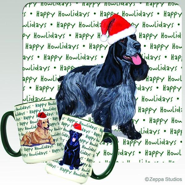 English Cocker Spaniel Holiday Mug