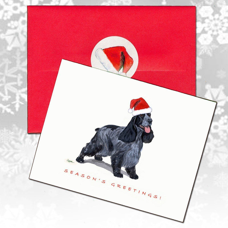 English Cocker Spaniel Christmas Note Cards