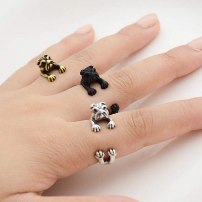 Bulldog Wrap Ring