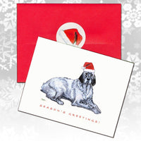 English Setter Christmas Note Cards