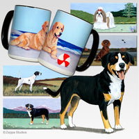 Entelbucher Mountain Dog Scenic Mug