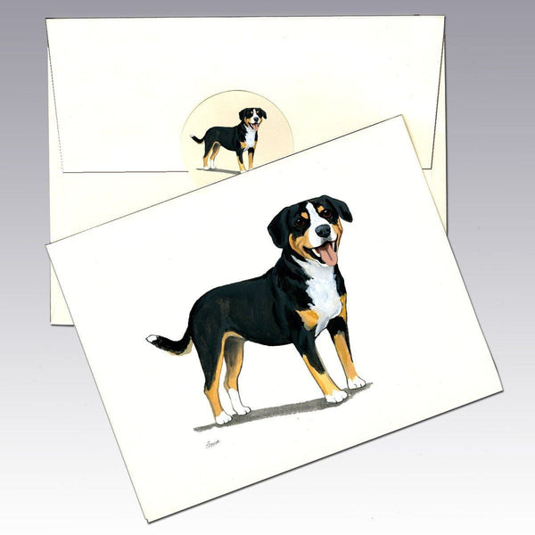 Entelbucher Mountain Dog Note Cards