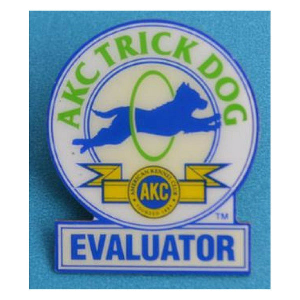 AKC Dog Trick Evaluator Pin
