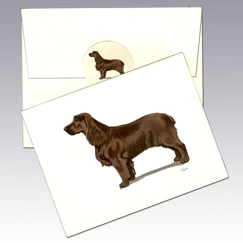 Field Spaniel Note Cards