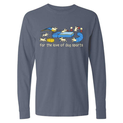 For The Love Of Dog Sports  - Classic Long-Sleeve Shirt