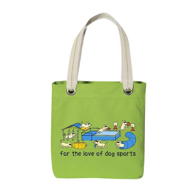 For The Love Of Dog Sports - Canvas Tote