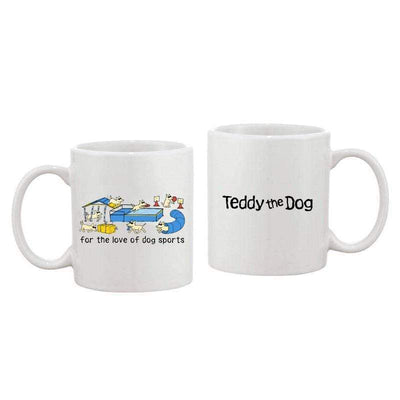 For The Love Of Dog Sports - Coffee Mug