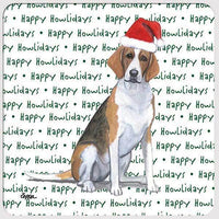 "Foxhound ""Happy Howlidays"" Coaster"