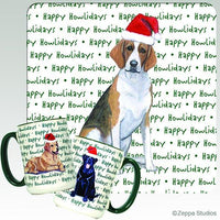 Foxhound Holiday Mug
