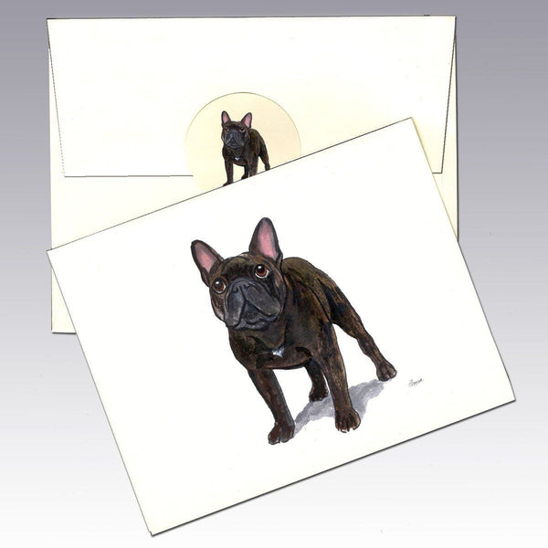 French Bulldog Note Cards