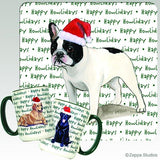 French Bulldog Holiday Mug