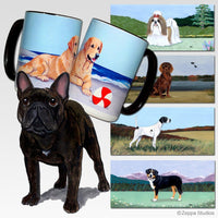 French Bulldog Scenic Mug
