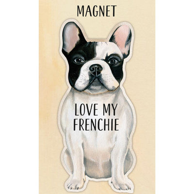 I Love My French Bulldog Magnet