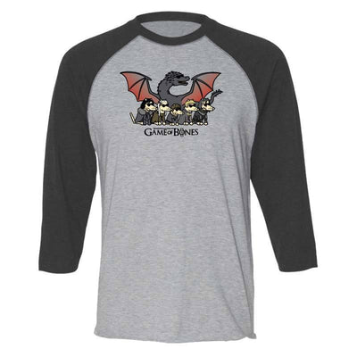 Game Of Bones Final Season  - Baseball Shirt