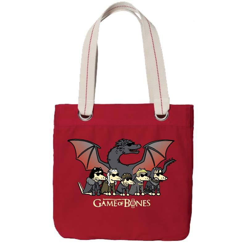 Game Of Bones Final Season - Canvas Tote