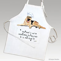 German Shepherd Dog Apron