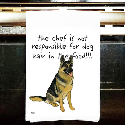 German Shepherd Dog Tea Towel