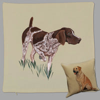 German Shorthaired Pointer Pillow Cover