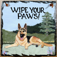 German Shepherd Dog Slate Sign